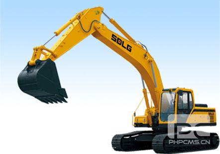 加长臂挖掘机